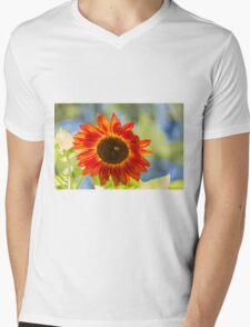 Sunflower 2 Mens V-Neck T-Shirt