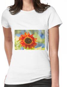 Sunflower 2 Womens Fitted T-Shirt