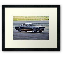 1966 Shelby Mustang GT350H 'Hertz' Framed Print