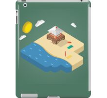 Isometric beach iPad Case/Skin