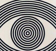eye contact Sticker