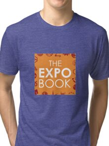 The Expo Book - Logo Version 1 Tri-blend T-Shirt