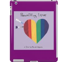 Rewriting Love Film iPad Case/Skin