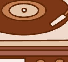 Record Player: Vintage Icon Series Sticker