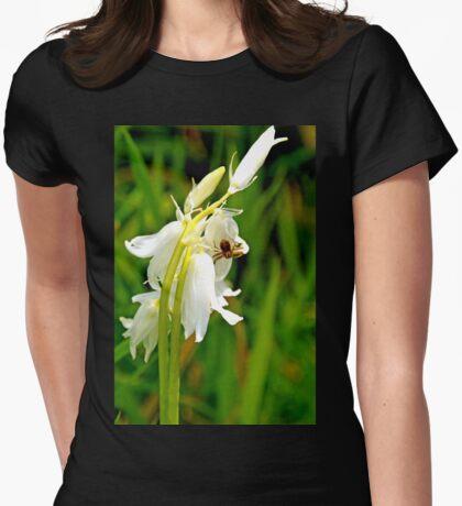 Spider on White Bells.......Portisham, Dorset UK Womens Fitted T-Shirt