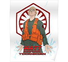 My name is Matt. I'm a Radar Technician Poster