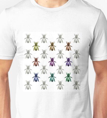 Bee Color Palette  Unisex T-Shirt