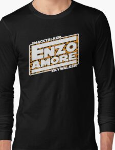 Sawft Wars: Enzo Strikes Back Long Sleeve T-Shirt
