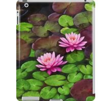 Among the Lily Pads iPad Case/Skin