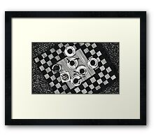 Coffee and Cigarettes Framed Print