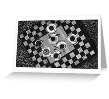 Coffee and Cigarettes Greeting Card