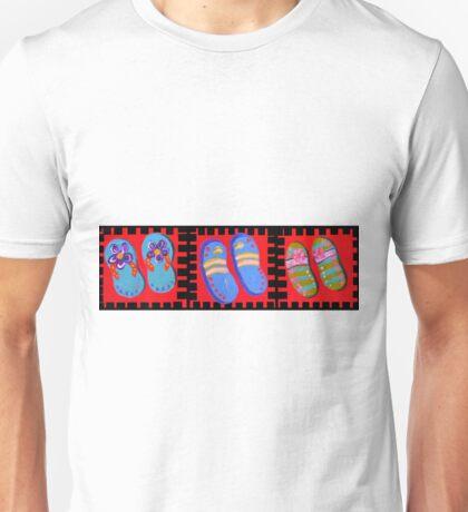 Flip Flops Times Three Unisex T-Shirt