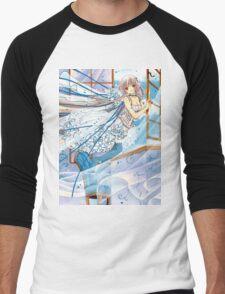 Chobits Chii Men's Baseball ¾ T-Shirt