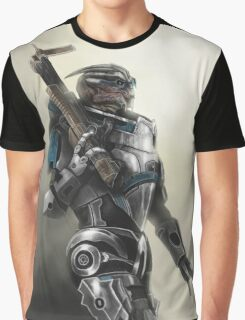 A busy Turian Graphic T-Shirt