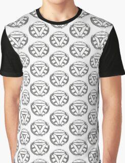 Heart Reactor Graphic T-Shirt