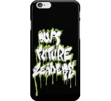 Our Future Leaders Graffiti Green iPhone Case/Skin