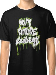 Our Future Leaders Graffiti Green Classic T-Shirt