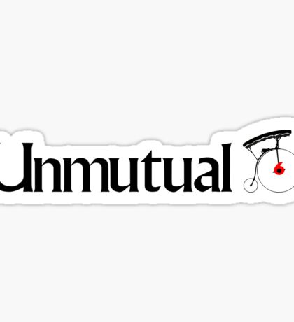 Unmutual - The Prisoner Sticker