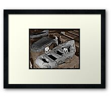 Women Building Zodiacs WWII Framed Print