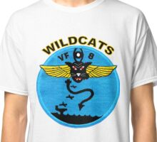 VF-8 Wildcats Patch Classic T-Shirt