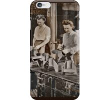 Women Munitions Factory iPhone Case/Skin