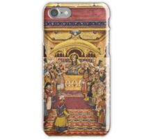 The durbar of Akbar Shah II, India, Mughal, Delhi, first half 19th Century iPhone Case/Skin