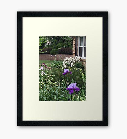 Our Garden... Framed Print