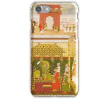 The Emperor Bahadur Shah I enthroned, attributable to Bhavanidas, Mughal,  iPhone Case/Skin