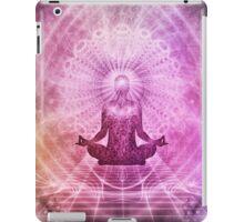 Meditation Abstract Spiritualism Yoga Concept iPad Case/Skin