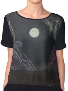 The Ghost of the Wilderness Chiffon Top