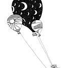 Balloons by Aleksandra Kabakova