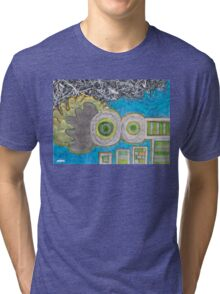 Blue and the Transformation Process Tri-blend T-Shirt