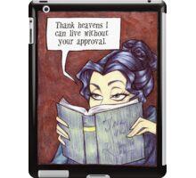 Book worm iPad Case/Skin