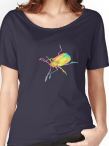 Dogbane leaf beetle - PSYCHEDELIC Women's Relaxed Fit T-Shirt