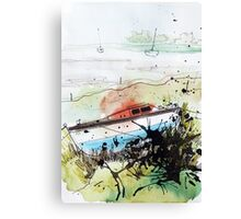 Without The Sea - tale 3 Canvas Print