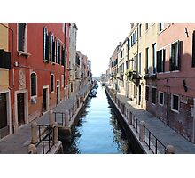 Venice Alleyway Photographic Print