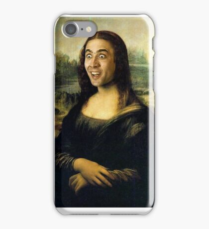 Gioconda iPhone Case/Skin