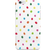 smiley dots iPhone Case/Skin