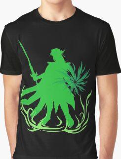 The Emerald Radiance Summoner Graphic T-Shirt