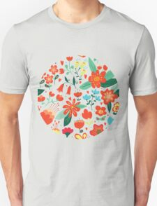 Cute flowers for Valentines Day Unisex T-Shirt