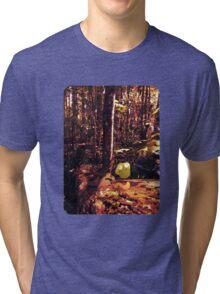 Good Work, Wormy-Boy Tri-blend T-Shirt