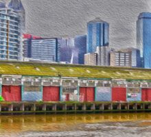 Docklands, Melbourne Sticker