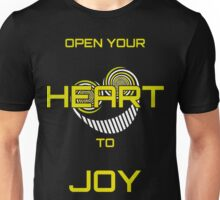 Open Your Heart to Joy Unisex T-Shirt