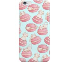 Macarons & Kittens iPhone Case/Skin