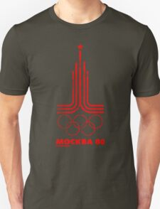 Moscow Olympics 1980 T-Shirt
