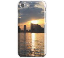 Sunset Over Hudson River iPhone Case/Skin