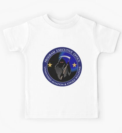 Unmanned Aviation and Strike Weapons Logo Kids Tee