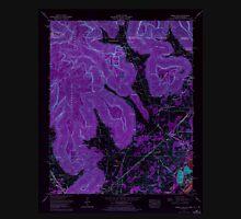 USGS TOPO Map Alabama AL Doran Cove 303698 1967 24000 Inverted Unisex T-Shirt