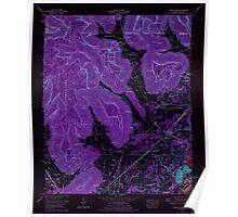 USGS TOPO Map Alabama AL Doran Cove 303698 1967 24000 Inverted Poster