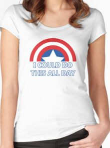 All Day Women's Fitted Scoop T-Shirt